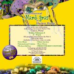 Mardi Gras at Hackett House
